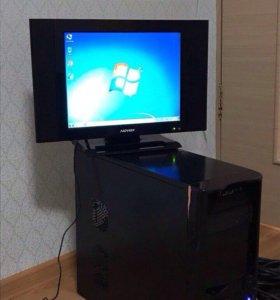 Продам рабочий процессор и рабочий монитор