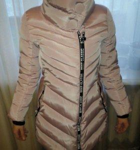 Новый теплый пуховик куртка