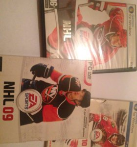 Для любителей хоккея: NHL-08,09,10.