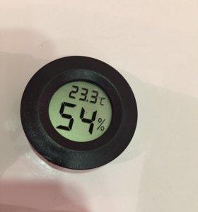 Встраиваемый термометр/гигрометр жк. 141217