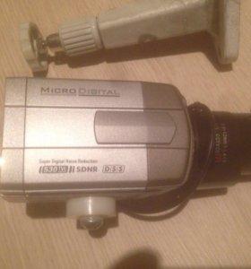 2 камеры microdigital