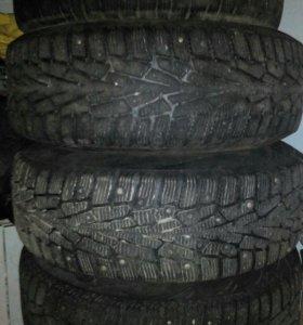 Зимние колеса от пассат б5