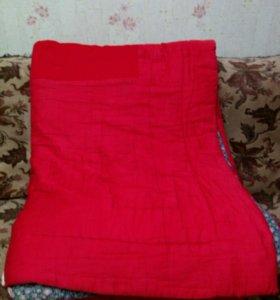 Одеяло ватное 140×200см. Б/У