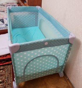 Манеж кровать новый