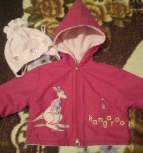 Куртка детская с шапочкой