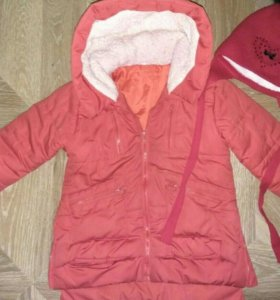 Куртка и шапка