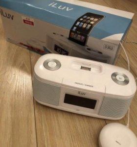 ILuv акустическая система для iPhone белая IMM153