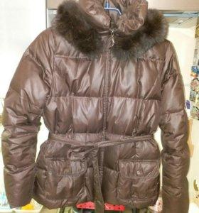 куртка-пуховик зимняя 46 размер