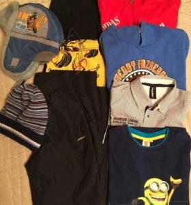 Пакет вещей на мальчика 140-146см