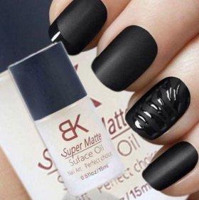 Матовое покрытие для ногтей BK Super Matte