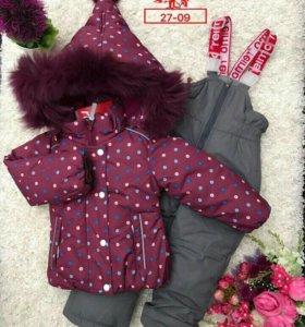 Зимний комплект размер 80