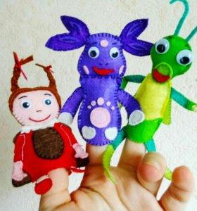 Кукольный пальчиковый театр Лунтик