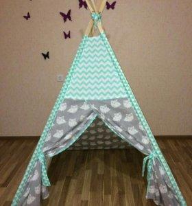 Вигвам детская палатка