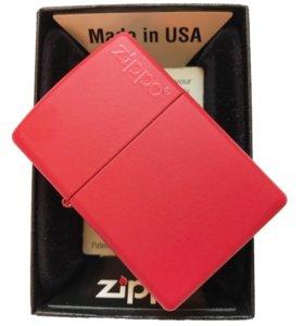 Zippo Red Matte 233zl зажигалка