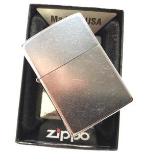 Zippo Street Chrome 207 зажигалка