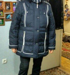 куртка зима р-р 54 новая