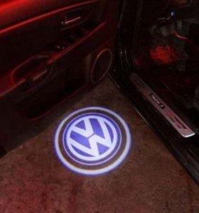 Автоподсветка VW