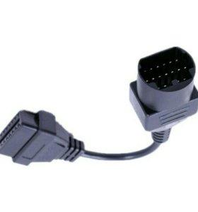 Переходник OBD Mazda 17-pin на 16-pin OBD2