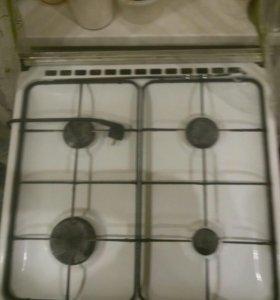 Плита газовая с электродуховкой и грилем