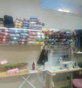 Фурнитура для шитья.Ремонт одежды любой сложности