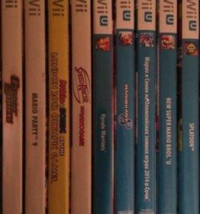 Игры для Nintendo WII и Nintendo WII U