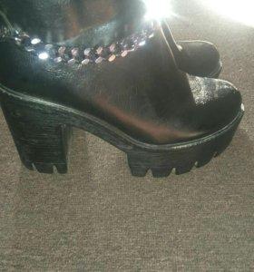 Ботинки очень удобные,800р