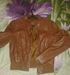 Курточка кожанка