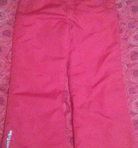 Зимние штаны для девочки Tokka Tribe. 134.