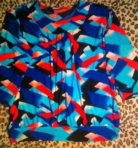Новая блузка 52-54 р-р