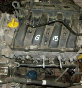 Двигатель к4м 1.6л рено,ниссан G15