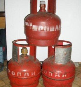 Газовые баллоны 5 литровые