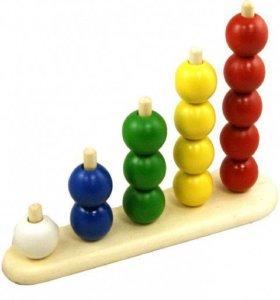 Пирамидка Абака с шариками