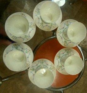 Кофейный сервиз лфз костяной фарфор