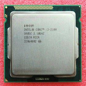 Процессор I3-2100 3.10ghz lga 1155