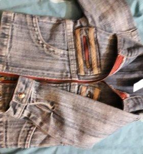 Курточка джинсовая на малыша