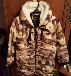 Новая зимняя куртка р.48-50