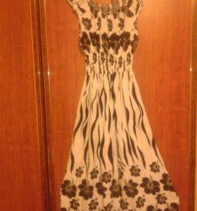 Платье летнее длинное