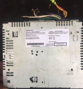 магнитола sony cdx g1000u