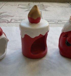 Подсвечники керамика