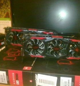 Видеокарта PowerColor AMD Radeon RX480 RedDevil 8G