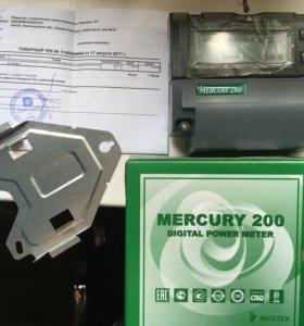 Счётчик Меркурий 200.02 день/ночь новый