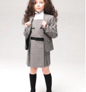 Школьная форма | размер 38 |сарафан | пиджак