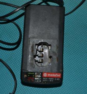 Зарядное устройство шуруповерта Metabo C45 D-72622