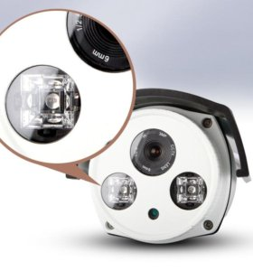Видеокамера уличная (2.5, 4, 6, 8, 12мм)