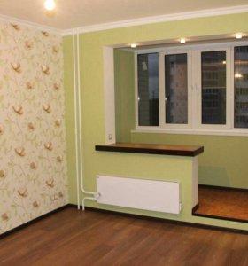 Ремонт квартир, все виды отделочных работ