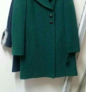 Пальто новое утепл.