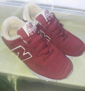 Зимние кроссовочки balance новые