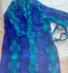 Мужской махровый халат . Размер 48- 52