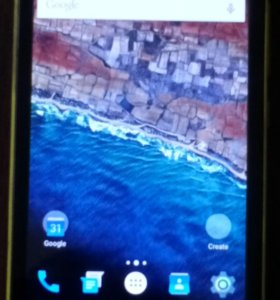 Nokia XL. Желтая.