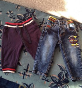 Штанишки и джинсы на мальчика
